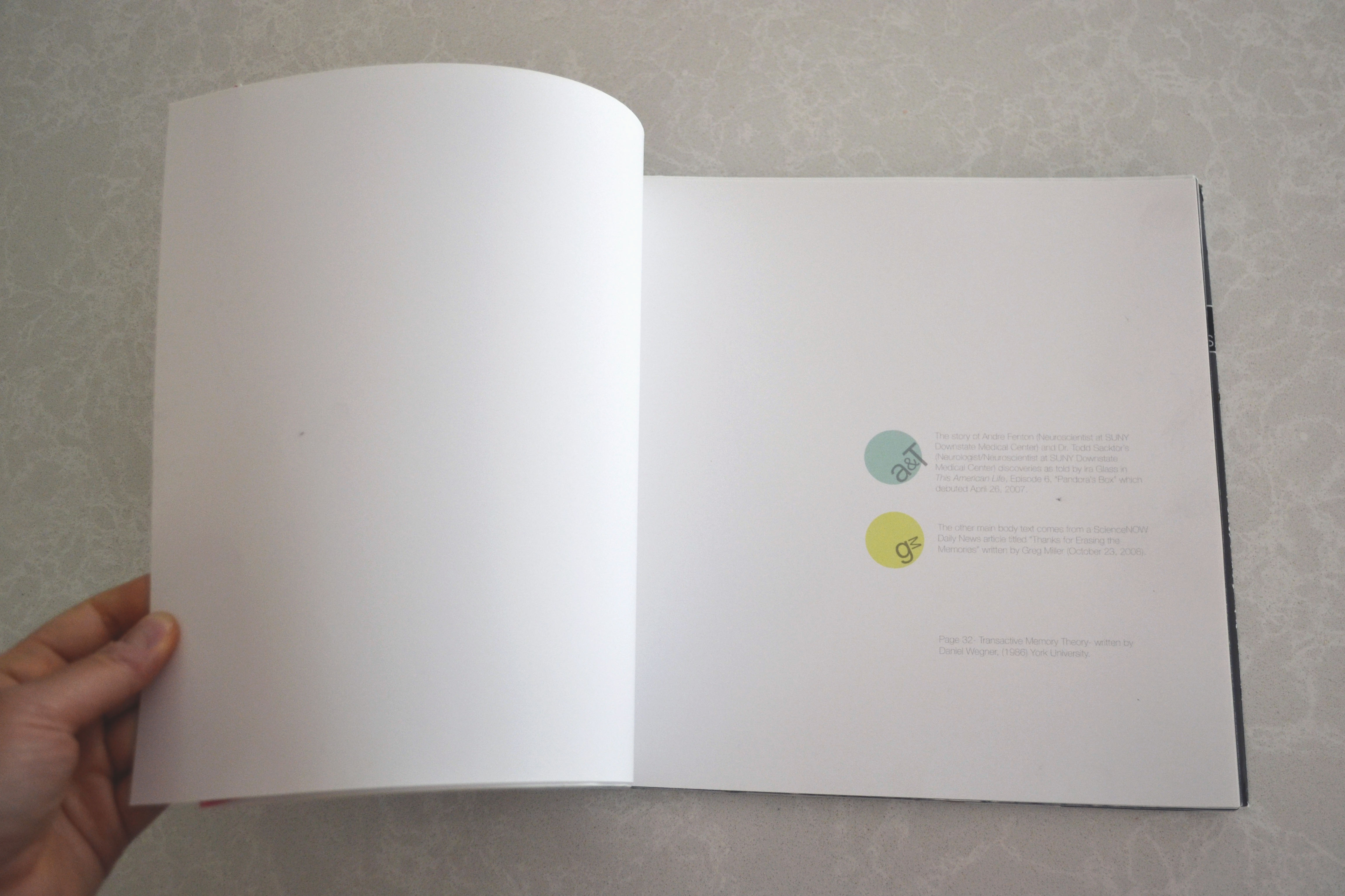 Thanks For Memories Andre >> Graphic Design Marjorie Verlin